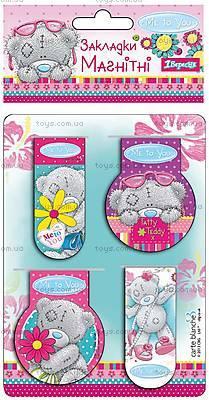 Набор магнитных закладок «Мишка Тедди», 704509, купить