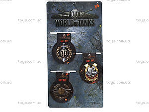 Закладки магнитные «Танчики», 704959