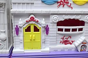 Замок для куклы, для детей, WD-801, игрушки