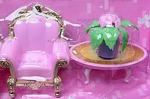 Замок для куклы, для детей, WD-801, магазин игрушек