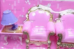 Замок для куклы, для детей, WD-801, іграшки