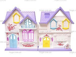 Замок для куклы музыкальный, WD-804, детские игрушки