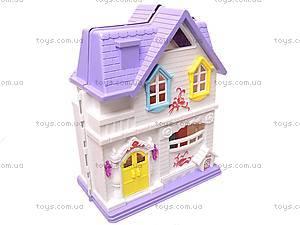 Замок для куклы музыкальный, WD-804, toys.com.ua