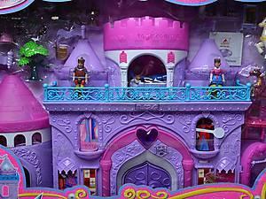 Замок для куклы с мебелью, 16398, магазин игрушек