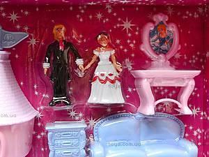 Замок для кукол игрушечный, 8091, фото