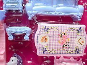 Замок для кукол игрушечный, 8091, игрушки
