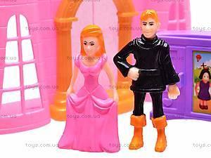 Замок с куклами и каретой, CB688-6, фото