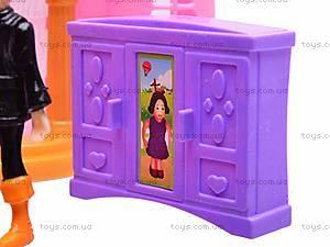 Замок с куклами и каретой, CB688-6, отзывы
