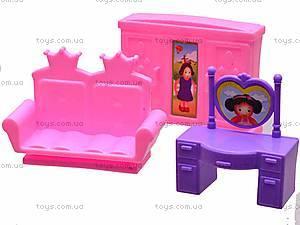 Замок с куклами и мебелью, CB688-1, фото