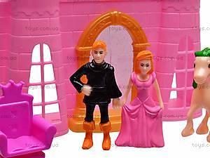Замок с куклами и мебелью, CB688-1, отзывы