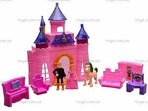 Замок с куклами и мебелью, CB688-1