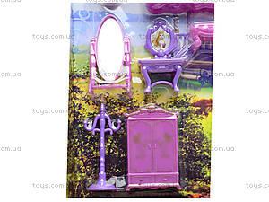 Музыкальный замок с мебелью и каретой, SG-2973, фото