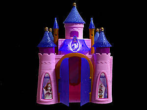 Музыкальный замок с мебелью и каретой, SG-2973, магазин игрушек