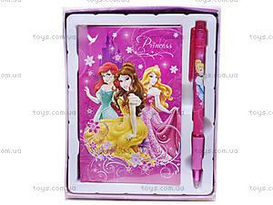 Записная книжка с ручкой «Принцессы», PRAB-US1-340