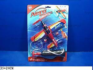 Детский игрушечный самолет с запуском, 6363-1