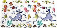 Защитный коврик в ванну Морские обитатели, LN-8666, тойс
