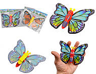 Игрушка бабочка заводная, YT532-2, детский