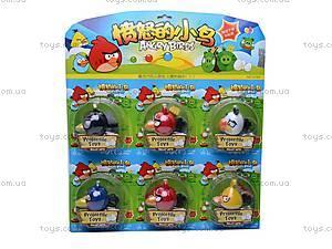 Заводная игрушка Angry Birds, 6 птичек, 5168