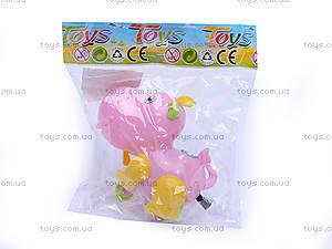 Заводная игрушка «Бегемотик», JS9900, купить