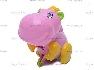 Заводная игрушка «Бегемотик», JS9900