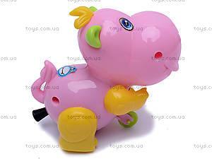 Заводная игрушка «Бегемотик», JS9900, цена