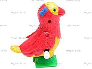 Заводная игрушка попугай, 188-1