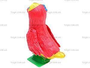 Заводная игрушка попугай, 188-1, фото