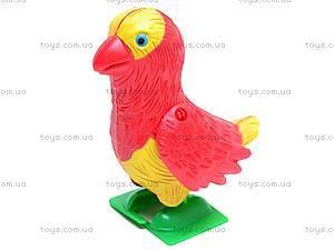 Заводная игрушка попугай, 188-1, отзывы