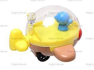 Заводная игрушка «Самолетик», 6 штук, 8001A, фото