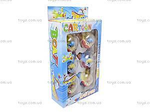 Заводная игрушка «Самолетик», 6 штук, 8001A