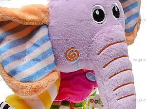 Заводная мягкая игрушка «Слоник», 4005, цена