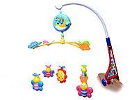 Заводная погремушка на кроватку, музыкальная, 666-03, игрушки