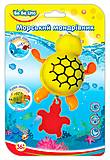 Заводная игрушка для купания «Морской путешественник Черепашка», 57094, фото