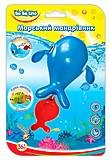 Заводная игрушка для купания «Морской путешественник Кит», 57079, фото
