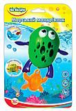 Заводная игрушка для купания «Морской путешественник Лягушка», 57093