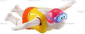 Заводная игрушка для ванны «Пловец», 27067