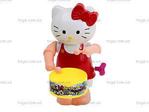 Заводная игрушка с барабаном Hello Kitty, 3584-2A, отзывы