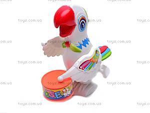 Заводной барабанящий попугай, 699