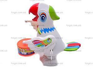 Заводной барабанящий попугай, 699, купить