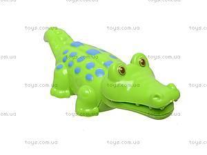 Заводной крокодильчик, YS003A, игрушки