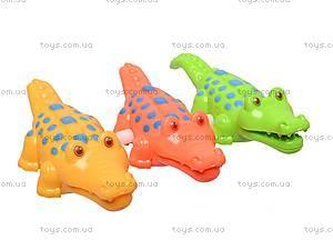 Заводной крокодильчик, YS003A