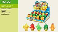 Заводной резиновый динозаврик, TS-122, іграшки