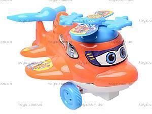 Заводной самолет-погремушка, 876-1, детские игрушки