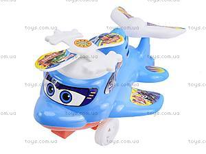 Заводной самолет-погремушка, 876-1, toys.com.ua