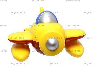 Заводной самолёт игрушечный, 025R, купить