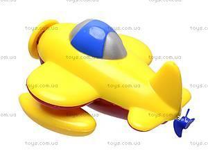 Заводной самолёт игрушечный, 025R, отзывы