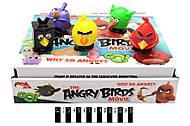Заводные птички - игрушки Angry Birds, DK-20, оптом