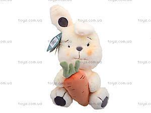 Игрушка для детей «Зайчик Ласунчик», К354С, фото