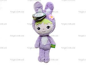 Плюшевая игрушка «Зайчик Мини», К415А, фото