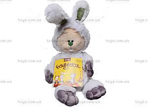 Мягкая игрушка «Зайчик-почемучка», К351СВ, фото